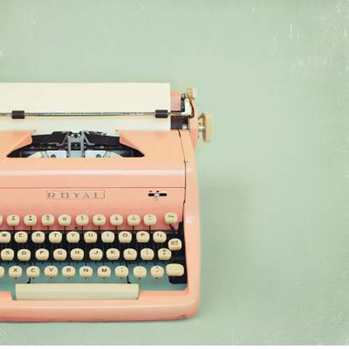 What National Novel Writing Month Taught Me - Life In Limbo  Typewriter Photography Tumblr